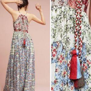 Anthropologie Dresses - NWT Anthro Adelaide maxi Dress Bhanuni by Jioti